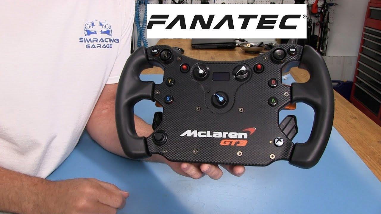 Fanatec Mclaren GT3 Wheel Review | Sim Racing Garage