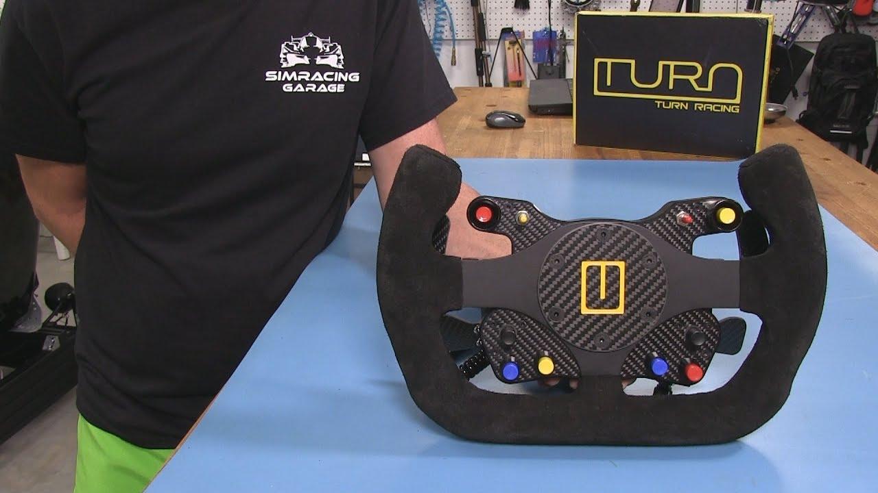 Turn Racing R1 PRO Wheel Review   Sim Racing Garage
